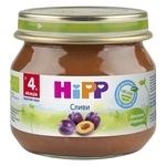 HiPP Слива (с 4 месяцев) 80 г, 6 шт.