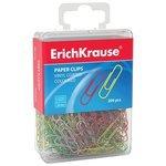 ErichKrause Скрепки цветные 28 мм (19740) (200 шт.)