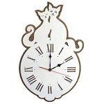 Часы настенные кварцевые Roomton Коты 02150
