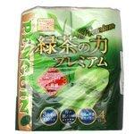 Туалетная бумага Marutomi Penguin Premium трехслойная с ароматом зеленого чая
