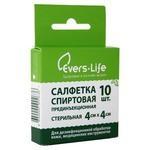 Evers-Life Салфетки спиртовые прединъекционные стерильные 40 х 40 мм