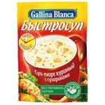 Gallina Blanca Быстросуп Суп-пюре куриный с сухариками 17 г