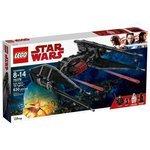 Классический конструктор LEGO Star Wars 75179 Истребитель СИД Кайло Рена