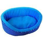 Лежак для кошек, для собак LOORI Дуэт Z0609 38х25х14 см