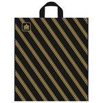 Пакет ТИКО-Пластик полиэтиленовый с петлевой ручкой Золотая полоса 44х40 см