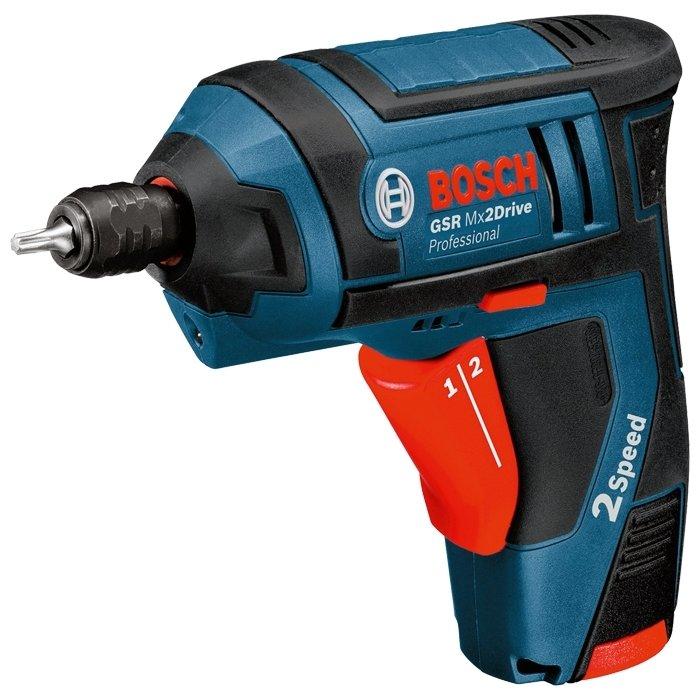 Купить Bosch GSR Mx2Drive 1.3Ah x2 Case