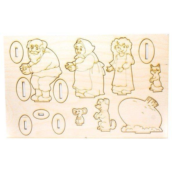 картинки из сказки репка вырезать из бумаги поражения