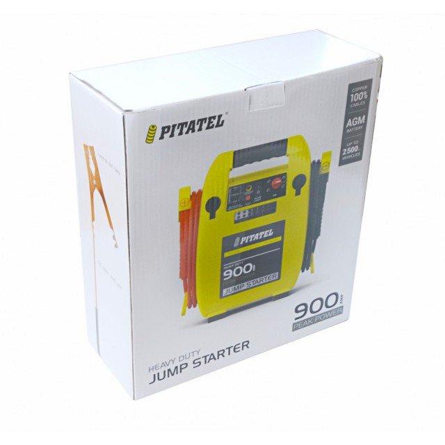 Купить Пусковое устройство Pitatel CJS-900 (400A/900A, 12V, 17Ah)