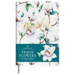 Ежедневник Greenwich Line Vision.Flowers недатированный, искусственная кожа, А5, 136 листов