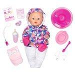 Интерактивная кукла Zapf Creation Baby Born Зимняя пора, 43 см, 825-273