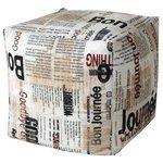 MyPuff небольшой пуфик Газета
