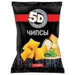 Чипсы 5D пшеничные 4 сыра