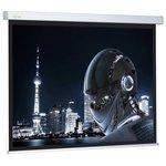 Рулонный матовый белый экран cactus Wallscreen CS-PSW-128x170