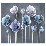 Фотообои Design Studio 3D Загадочные цветы