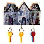Ключница elf Маленький ночной городок, 19x13 см
