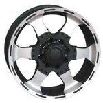Купить RS Wheels RSL 6037 8x17/6x139.7 D106.1 ET20 MCB