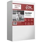 Бумага A6 500 шт. S'OK Glossy 230г/м2