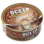 Ecofood Осетр с гречкой в оливковом масле, 240 г