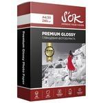 Бумага A4 20 шт. S'OK Premium Glossy 240 г/м2