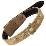 Ошейник Гамма с кольцом и украшением 11232023, 55 см 35-50 см