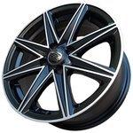 Обзор Sakura Wheels 3168 6.5x15/4x100 D67.1 ET38 Черный с полировкой