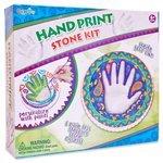 ABtoys Hand print - Stone kit (8857)