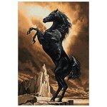Гранни Алмазная мозаика Могучий конь (ag556) 48x70 см