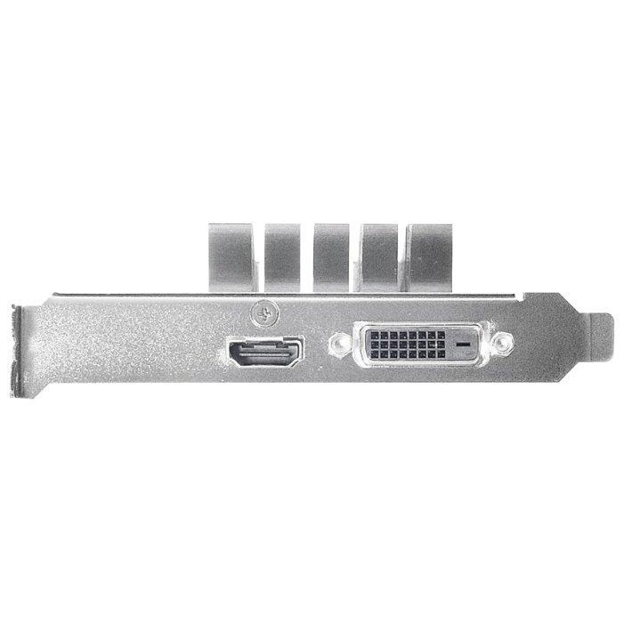 Купить ASUS GeForce GT 1030 1228Mhz PCI-E 3.0 2048Mb 6008Mhz 64 bit DVI HDMI HDCP Silent
