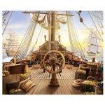 Фотообои Design Studio 3D Штурвал пиратского корабля
