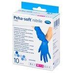 Перчатки смотровые нестерильные Hartmann Peha-soft nitrile fino
