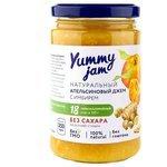 Yummy Jam Джем Yummy jam натуральный апельсиновый с имбирем без сахара, банка 350 г