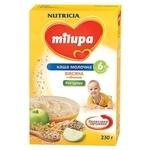Milupa (Nutricia) Молочная овсяная с яблоком (с 6 месяцев) 230 г