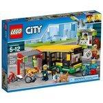 Классический конструктор LEGO City 60154 Автобусная остановка