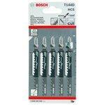 Набор пилок для лобзика BOSCH T144D 2608630040 5 шт.