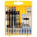 Набор пилок для лобзика DeWALT DT 2294 10 шт.