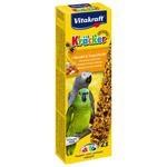 Лакомство Vitakraft Крекеры для амазонских попугаев миндаль и фрукты (21296)