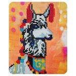 Color Kit Алмазная картина Нарядная лама (M011) 17х21 см