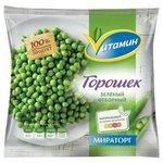 Vитамин замороженный зеленый горошек замороженный 400 г