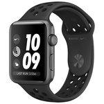 Купить Apple Watch Series 3 38mm Aluminum Case with Nike Sport Band