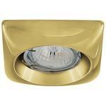 Встраиваемый светильник De Fran FT 821 G, золото