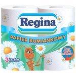 Туалетная бумага Regina Ромашка трёхслойная