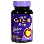 Коэнзим Q10 Natrol CoQ-10 50mg (60 капсул)