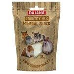 Лакомство для кроликов, грызунов Dajana Pet Country mix mineral block