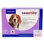 Virbac Эффитикс капли для собак 10-20 кг
