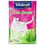 Лакомство для кошек Vitakraft Cat grass (смесь для проращивания травы)