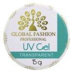 Гель Global Fashion UV Gel однофазный для моделирования, 15 г