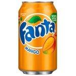 Газированный напиток Fanta Mango, США
