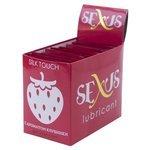 Гель-смазка Sexus Набор пробников Silk Touch Strawberry, 50 шт