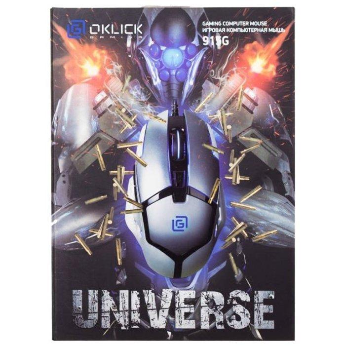 Отзывы Oklick 915G UNIVERSE Black USB