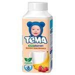 Йогурт питьевой Тема банан, земляника (с 8-ми месяцев) 2.8%, 210 г